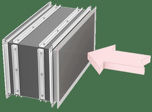 ventilatsiooni kandilise torustiku paigaldus